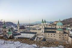 Catedral de Salzburg, Austria Fotos de archivo libres de regalías