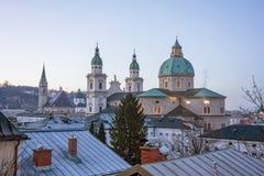 Catedral de Salzburg, Austria Fotografía de archivo libre de regalías