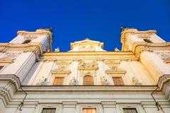 Catedral de Salzburg, Austria Imágenes de archivo libres de regalías