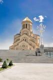 Catedral de Sameba em Tbilisi Imagem de Stock