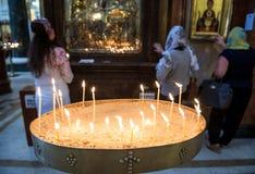 Catedral de Sameba em Tbilisi imagem de stock royalty free