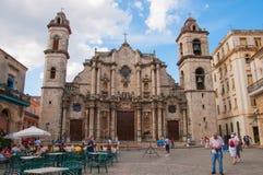 Catedral de San Cristobal de La Habana Imagen de archivo libre de regalías