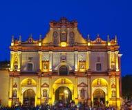 Catedral de San Cristobal de Las Casas. Fotos de archivo libres de regalías