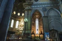 Catedral de San Gennaro, Nápoles, Italia fotos de archivo