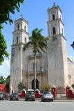 Catedral de San Gervasio, Valladolid (México) Foto de archivo