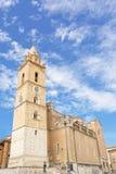 Catedral de San Giustino em Chieti (Itália) Fotografia de Stock Royalty Free