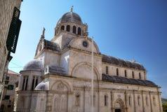 Catedral de San Jaime. Shibenik (Sibenik) fotografía de archivo