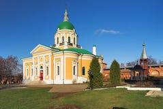 Catedral de San Juan Bautista en el Zaraisk Kremlin Fotografía de archivo