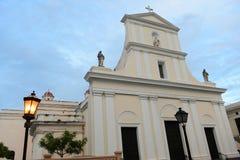 Catedral de San Juan Bautista, San Juan, Puerto Rico imagen de archivo