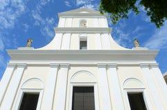 Catedral de San Juan Bautista, San Juan, Puerto Rico fotografía de archivo