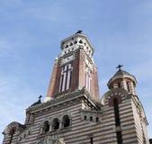 Catedral de San Juan en Ploiesti imágenes de archivo libres de regalías