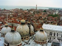 Catedral de San Marco, Veneza fotografia de stock