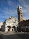 Catedral de San Martín, Lucca (Italia) Imagenes de archivo