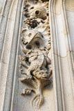 Catedral de San Miguel y del St. Gudula Imágenes de archivo libres de regalías