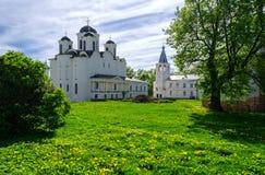 Catedral de San Nicolás Imagen de archivo libre de regalías