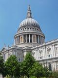 Catedral de San Pablo en Londres Foto de archivo