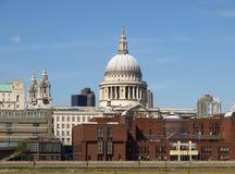 Catedral de San Pablo, Londres Foto de archivo libre de regalías