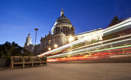 Catedral de San Pablo, Londres fotografía de archivo libre de regalías