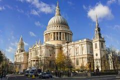 Catedral de San Pablo, Londres Imagen de archivo libre de regalías