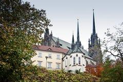 Catedral de San Pedro y de Paul Imágenes de archivo libres de regalías