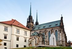 Catedral de San Pedro y de Paul Fotografía de archivo