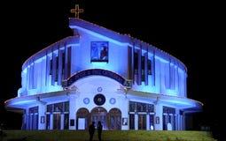 Catedral de San Pedro y de Paul, Jabalpur Imagenes de archivo