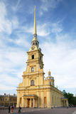 Catedral de San Pedro y de paul (St Petersburg) Foto de archivo libre de regalías