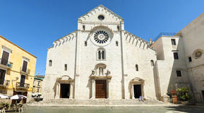 Catedral de San Sabino em Bari imagem de stock royalty free