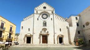 Catedral de San Sabino en Bari imagen de archivo libre de regalías