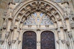 Catedral de San Salvador, Oviedo Hiszpania zdjęcia royalty free