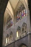 Catedral de San Salvador, Oviedo, Spanien Arkivbild