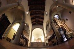 Catedral de Sansepolcro Foto de archivo