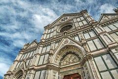 Catedral de Santa Croce en hdr Fotos de archivo libres de regalías