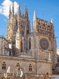 Catedral de Santa MarÃa - Burgos Photos stock