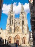 Catedral De Santa marÃa, Burgos - obrazy stock