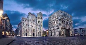 Catedral de Santa María del Fiore, Florencia almacen de metraje de vídeo
