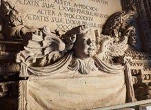 Catedral de Santa Maria Assunta dos di de Cattedrale de Lecce Puglia, Itália Fotos de Stock