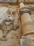 Catedral de Santa Maria Assunta de los di de Cattedrale de Lecce Puglia, Italia Imágenes de archivo libres de regalías