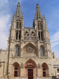Catedral de Santa Maria, Burgos (España Fotos de archivo