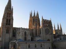 Catedral de Santa Maria, Burgos (España) Fotografía de archivo