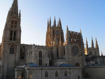 Catedral de Santa Maria, Burgos (Spanien) Arkivbild