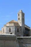 Catedral de Santa Maria dans Ibiza Images libres de droits