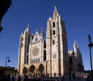 Catedral de Santa Maria de Leon Stock Photos