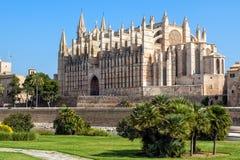 Catedral de Santa Maria de Palma Foto de archivo