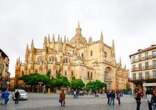 Catedral De Santa Maria de Se Stockbild