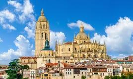 Catedral de Santa Maria de Segovia, Castilla y Leon, Spain Royalty Free Stock Images