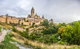 Catedral De Santa Maria de Segovia, Kastilien y Leon, Spanien Lizenzfreies Stockbild