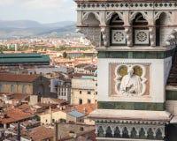 Catedral de Santa Maria del Fiore Architectural Detail foto de stock royalty free