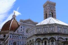 Catedral de Santa Maria del Fiore en Florencia Foto de archivo libre de regalías