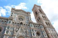 Catedral de Santa Maria del Fiore en Florencia Imagenes de archivo